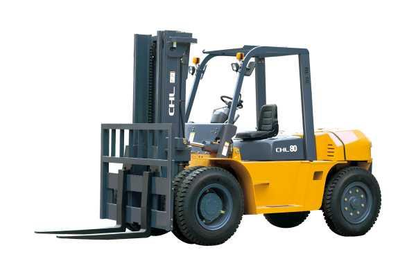 Дизельные погрузчики CHL от 8 ,0 до 10,0 тонн.